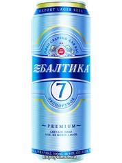 Пиво Балтика 0.5л №7 ж/б