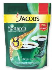 Кава Jacobs 205г монарх розчинна е.п.