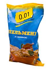 Пельмени 0.01 900г свинина