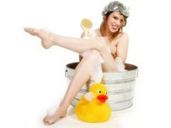 В душе и ванной