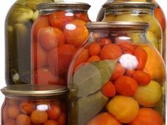 Овощные консервы