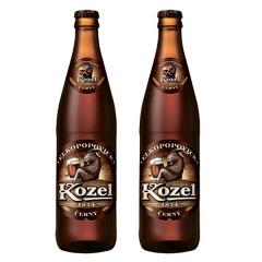 Пиво Velkopopovichy kozel 0.450л темне