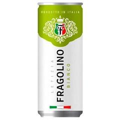 Вино Фраголіно Letizia 0.33л вianco напів ігристе