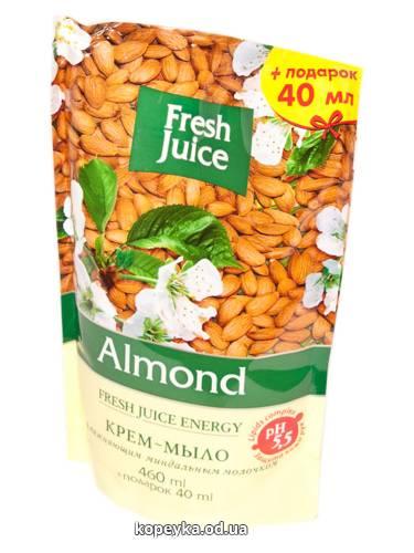 Мило рідке Зелена аптека 460мл almond д.п