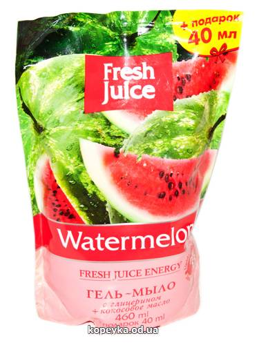Мило рідке Зелена аптека 460мл watermelon д.п