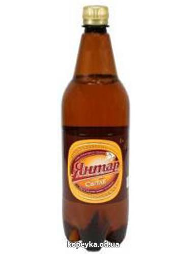 Пиво Янтар 1.2л свiтле