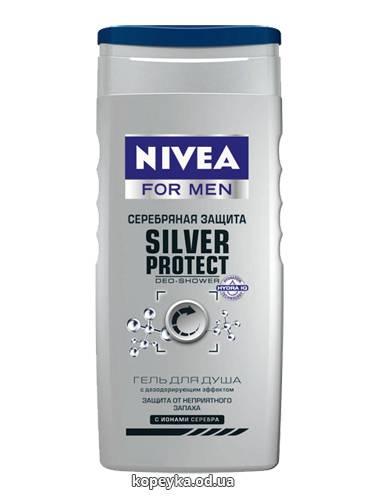 Гель д.душа Нивея 250мл серебрянная защита