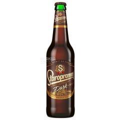 Пиво Старопрамен 0.5л темное