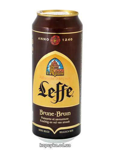 Пиво Leffe 0.5л brune ж.б