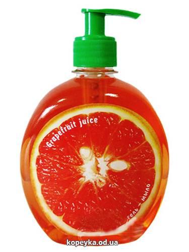 Мило-гель Смачні секрети 500мл антибактерiальне грейпфрут