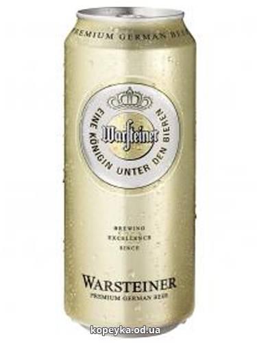 Пиво Варштайнер 0.5л премiум верум з.б