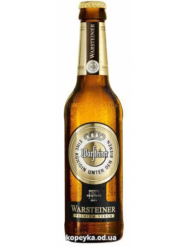 Пиво Варштайнер 0.33л премiум верум