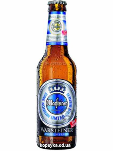 Пиво Варштайнер 0.33л премiум фреш