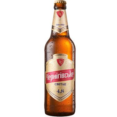 Пиво Чернігівське 0.5л світле