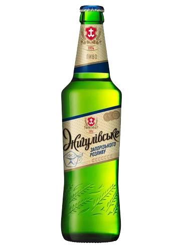 Пиво Жигулiвське 0.5л запорізького розливу