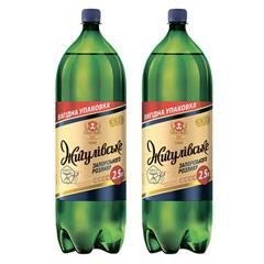 Пиво Жигулiвське Запорiзьккого Розливу 2.5л
