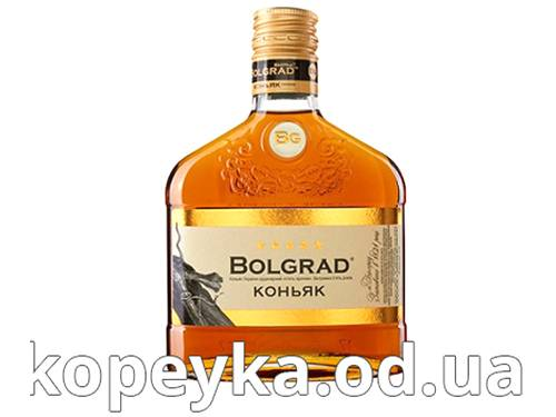 Коньяк Bolgrad 0.25л України ординальний 5 зiрочки
