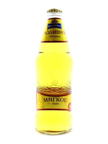 Пиво Балтика 0.44л розливне м`яке