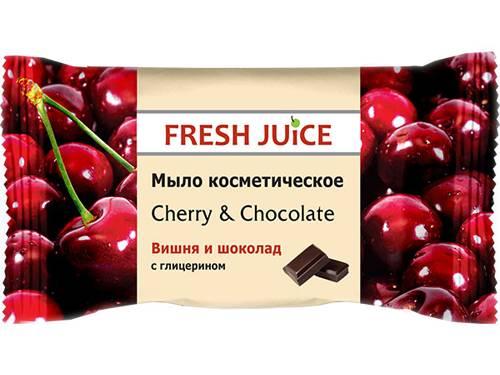 Мило Эльфа 75г FJ косметичне вишня шоколад