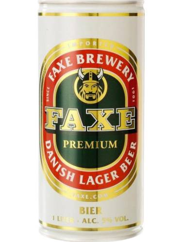 Пиво Факсе 0.5л 5.0% факсе лагер з.б