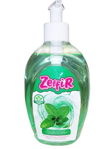 Мило рiдке Zeffir 330мл зелений чай
