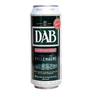 Пиво DAB 0.5 ж б