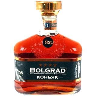 Коньяк Bolgrad 0.5л Болградский 4 зiрочки