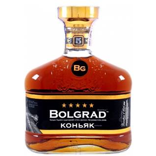 Коньяк Bolgrad 0.5л Болградский 5 зiрочок