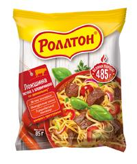 Локшина Ролтон 85г яловичина по-домашньому швидкого приготування.