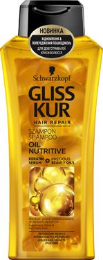 Шампунь д.волосся Gliss Kur 400мл oil nutritive