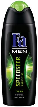 Гель д.душу Fa MEN 250 для тіла та волосся Speedster