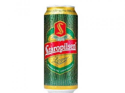 Пиво Staropilsen 0.5л 4.7% з.б