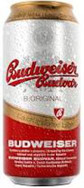 Пиво Budweiser (Будвайзер)0,5л темний з.б