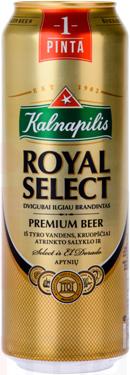 Пиво Kalnapilis Royal Select 0.568 л  з б