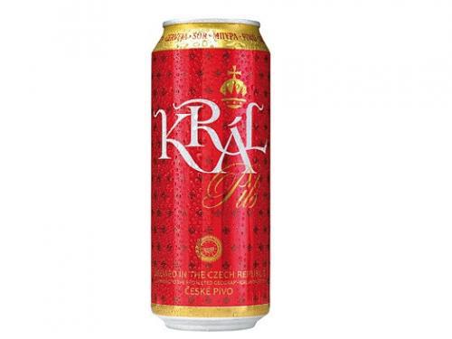 Пиво Кral Pils 0.5л