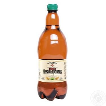 Пиво ППБ 0.9л бочкове нефiльтроване