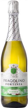 Вино ігристе Фраголіно Fortinia 0,75л б`янко