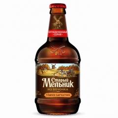 Пиво Старий Мельник 0,450л темне