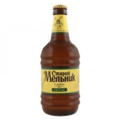 Пиво Старий Мельник 0,450л світле