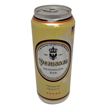 Пиво Preussen 0.5л ж.б пшеничне світле нефільтроване