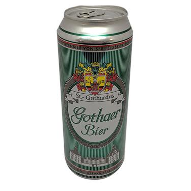 Пиво Gothaer 0.5л ж.б світле фільтроване пастеризоване