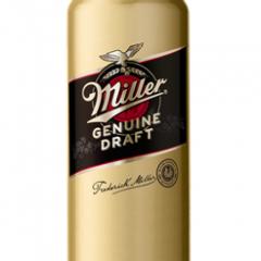 Пиво Мілер Дженьюін Драфт 0.5 світле ж.б