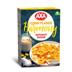Кукурудзяні пластівці  АХА 270г б. додавання цукру