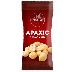 Арахiс Multico 70г смажений солоний