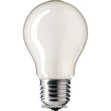 Лампочка Philips 60W звичайна матова А60 Е27