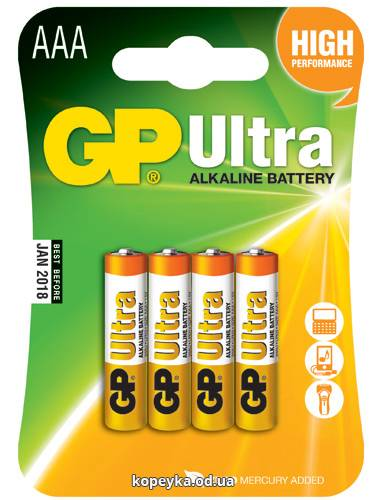 Батарейка GP 24АU LR03U (2)