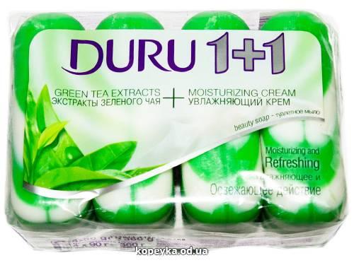Мило Duru 4х90г 1+1 eco green tea S - 261
