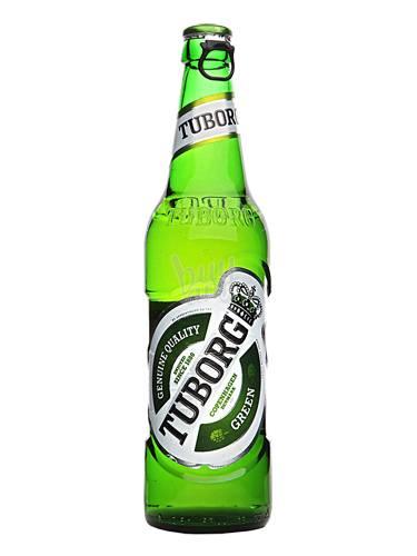 Пиво Туборг 0.33л грин