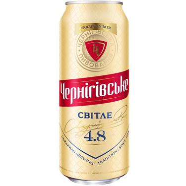 Пиво Черниговское 0.5л светлое ж.б