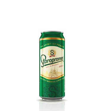 Пиво Старопрамен 0.5л з.б